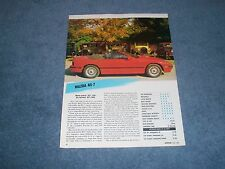 1988 Mazda RX-7 Convertible Vintage Info Article