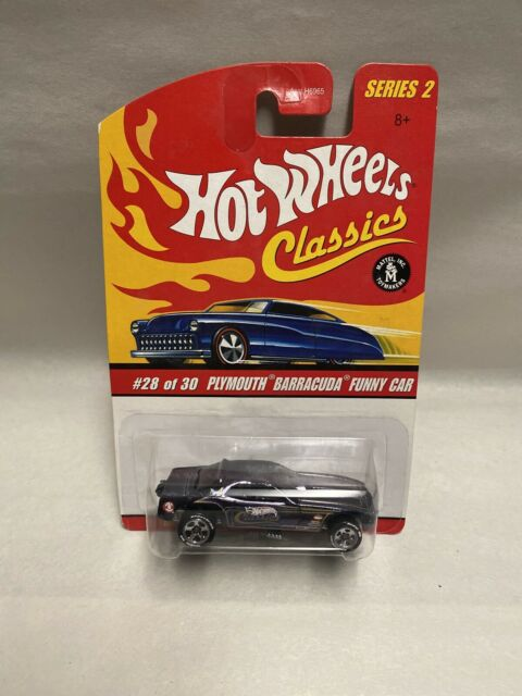 Hot Wheels Classics Plymouth Barracuda Funny Car CP05