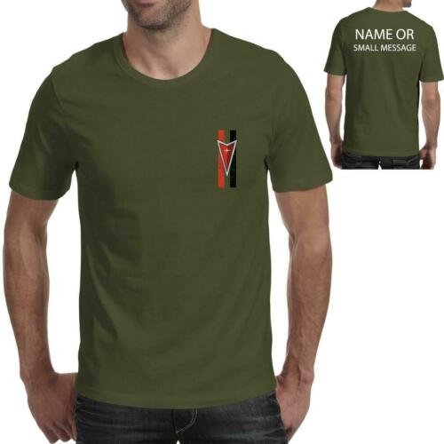 Pontiac stripes inspired Printed T-Shirt trans am Firebird American muscle car
