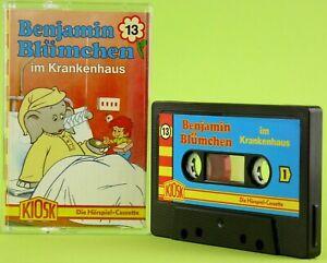 Benjamin-Bluemchen-13-im-Krankenhaus-KIOSK-Teldec-Hoerspiel-MC-Kassette