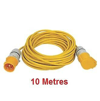 25 Meter Caravan Hook Up Extension Lead 2.5mm Cable 16A 240V 3 Pin Plug /& Socket