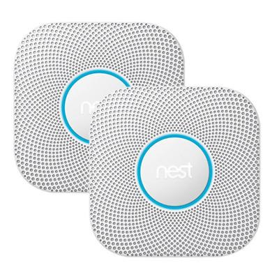 Nest Protect 2er Set Rauchmelder und Kohlenmonoxidmelder 2. Generation