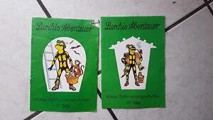 official photos 2f314 4eb4a Details zu Lurchis Abenteuer - alte Salamander Schuhe Comic Werbehefte 60,61