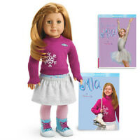 American Girl Mia Doll + 2 Books Doll Of The Year 2008 Fast Same Day Shipping