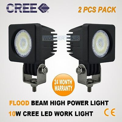 2PCS 10W LED CREE LED FLOOD 4WD REVERSE LAMP WORK LIGHT BAR DRIVING WD-18W/27W