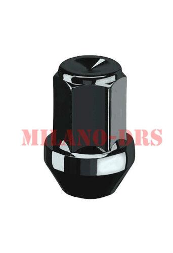 KIT 20 DADI CONICI CHIUSI NERI  M12x1,50 L=35mm Ch19