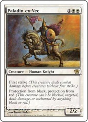 PALADIN EN-VEC Ninth Edition MTG White Creature — Human Knight RARE