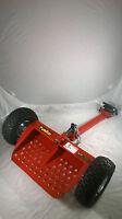 Velky Vkx2-3r Velke Sulky Red Walkbehind Ride/stand Attachment