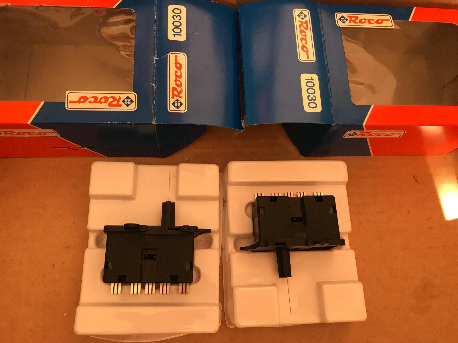 Roco 10030 2 X bajo pasillo-suave propulsión h0 nuevo + embalaje original