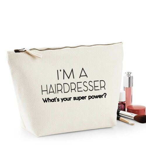 Hairdresser Thank You Gift Women/'s Make Up Makeup Accessory Bag