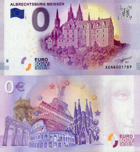 0 Euro Billet Albrechtsburg Burin 2017 -1 UNC-afficher le titre d`origine BHcMtlGu-07134238-166897985