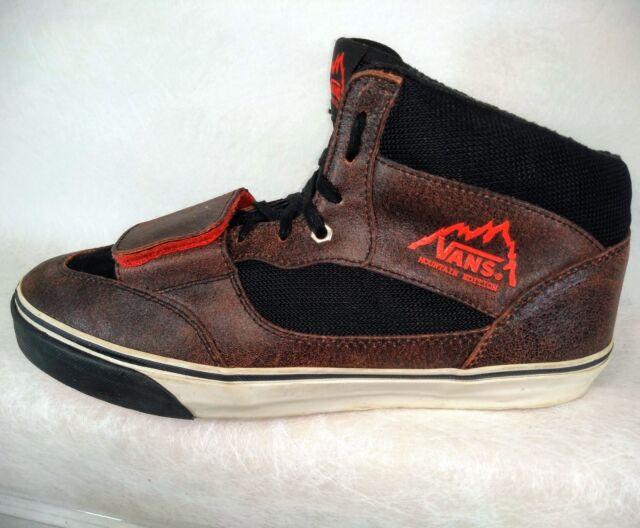 07ab3dd6fdd5 VANS 2010 Mountain Edition Snow Hi-Top Skate Board Shoes Men US 12 ...