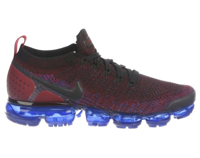 c4c778dd2a23 Frequently bought together. Nike Air Vapormax Flyknit 2 Mens 942842-006 Team  Red Blue Running Shoes ...
