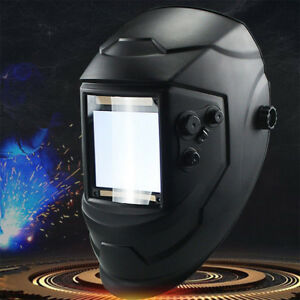 Tool Protection Black Welding Helmet Auto Darkening Welder Mask Adjustable 734802146634