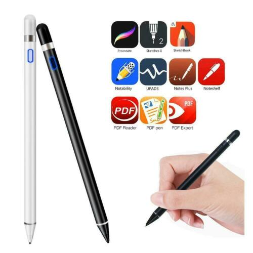USB Cable Pencil Touch Pen Stylus S Pen For Apple iPhone iPad Samsung Tablet