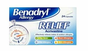 BENADRYL ALLERGY RELIEEF ACRIV...