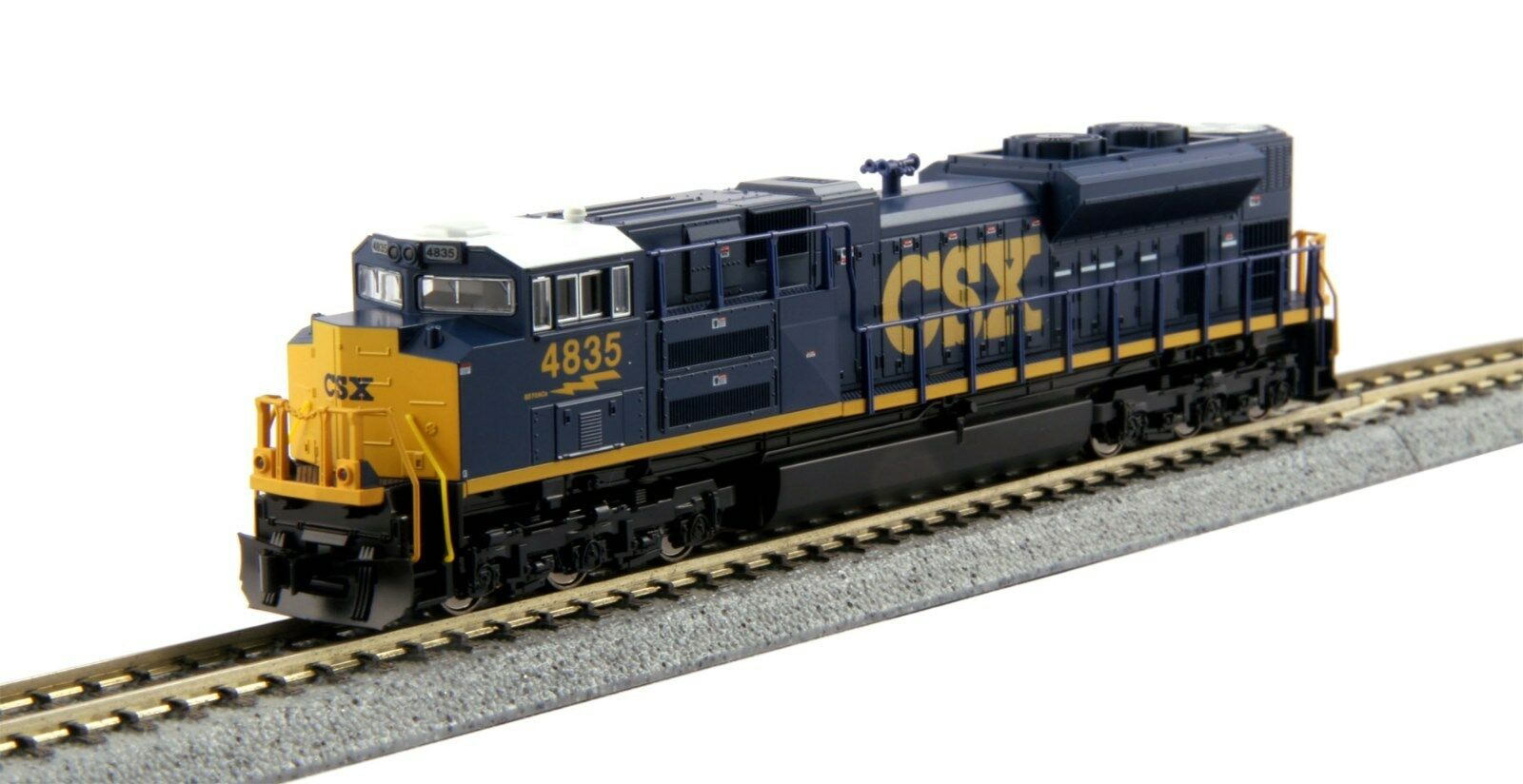 Kato N 176-8437 SD70ACe N CSX  4850  .. DC or DCC(tcs or digitrax)