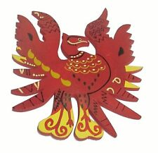 Fengshui Red Phoenix - Symbol of Fame, Reputation & Recognition 4inches