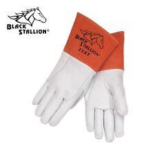 Black Stallion 35KF Alpha TIG Lined Kidskin Welding Gloves Medium