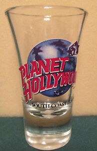 PLANET-HOLLYWOOD-SOUTH-COAST-PLAZA-CA-FLUTED-SHOT-GLASS