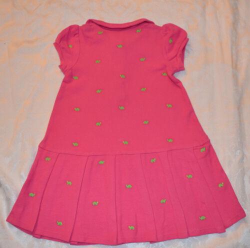 Gymboree TURTLE MATCH Pink Polo Dress NWT 4T 5T