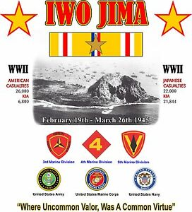 IWO-JIMA-BATTLE-SHIRT-WW-II-W-ASIATIC-RIBBON-034-UNCOMMON-VALUE-1-SIDED-SHIRT