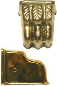 FURNITURE-REPAIR-STAMPED-BRASS-CLAWFOOT-LEG-CAP-B2303