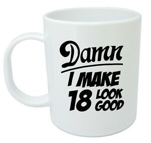 Image Is Loading Damn 18 Mug 18th Birthday Gifts Presents Gift