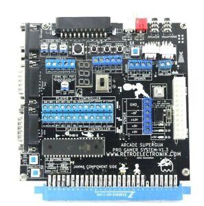Arcade-Supergun-Pro-Gamer-autofire-et-voltmetre-integre-ProGamer-Retroelectronik