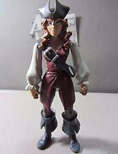 ELIZABETH SWANN Pirates Caribbean Animated SWASHBUCKLER Action Figure Toy ZIZZLE