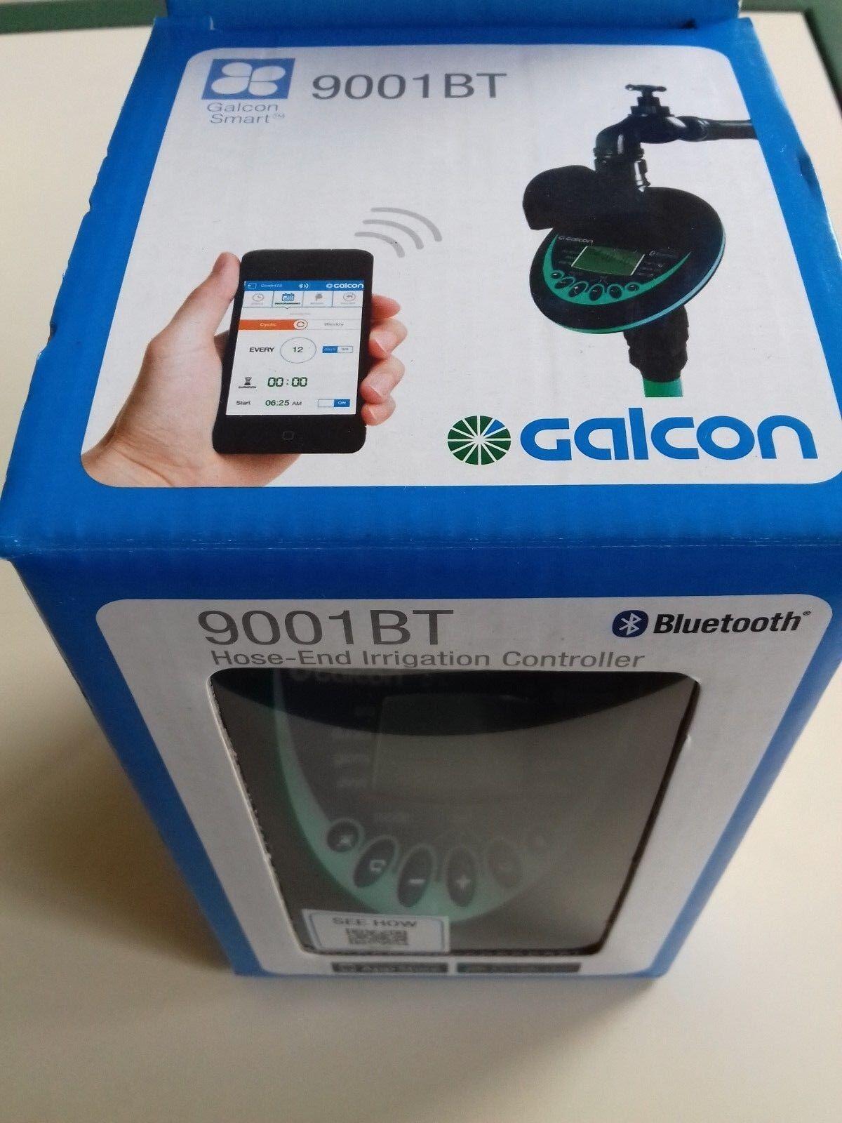 Programmatore centralina da rubinetto a batteria 9V Galcon 9001BT blutooth 3 4
