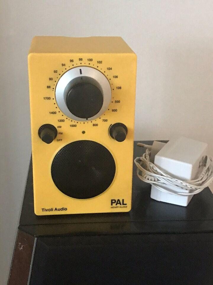 AM/FM radio, Tivoli, Pal