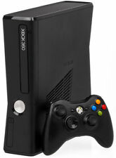 Xbox 360 S 4GB Black (includes 20GB external memory unit, HDMI cable and games)