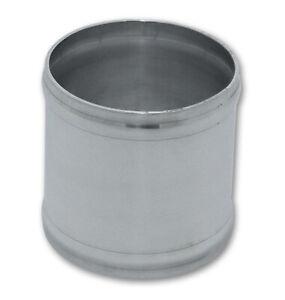 """Vibrant 12056 Aluminum Joiner Coupler 4"""" OD x 3"""" Long"""
