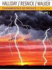 Fundamentals of Physics,Vol 1 (Chapters 1 - 20), Jearl Walker, David Halliday, R