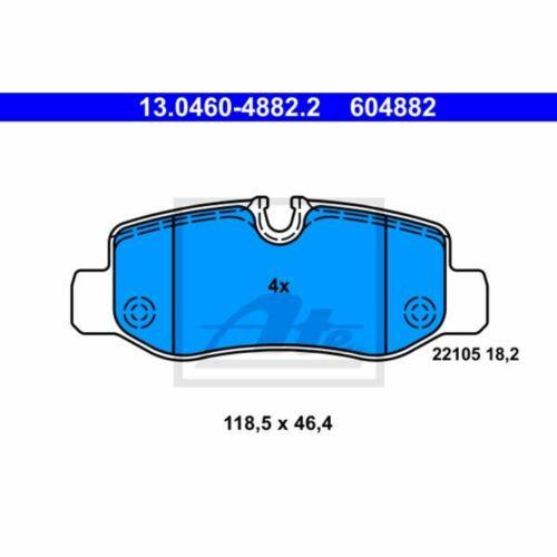 Bremsbelagsatz Scheibenbremse ATE 13.0460-4882.2
