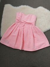 50e8d089a3fdf Forever New Size 6 Pink Strapless Dress, Short with Front Bow Detail And  Back.