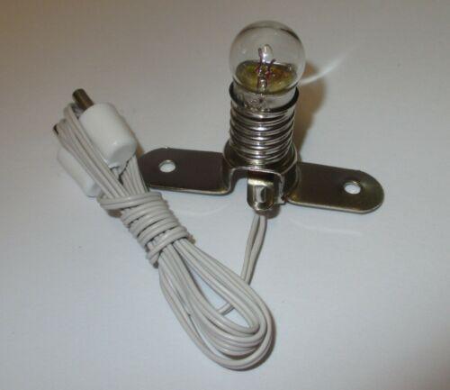 Kahlert Beleuchtungssockel  E10    3,5 Volt  weiß  *NEU//OVP*