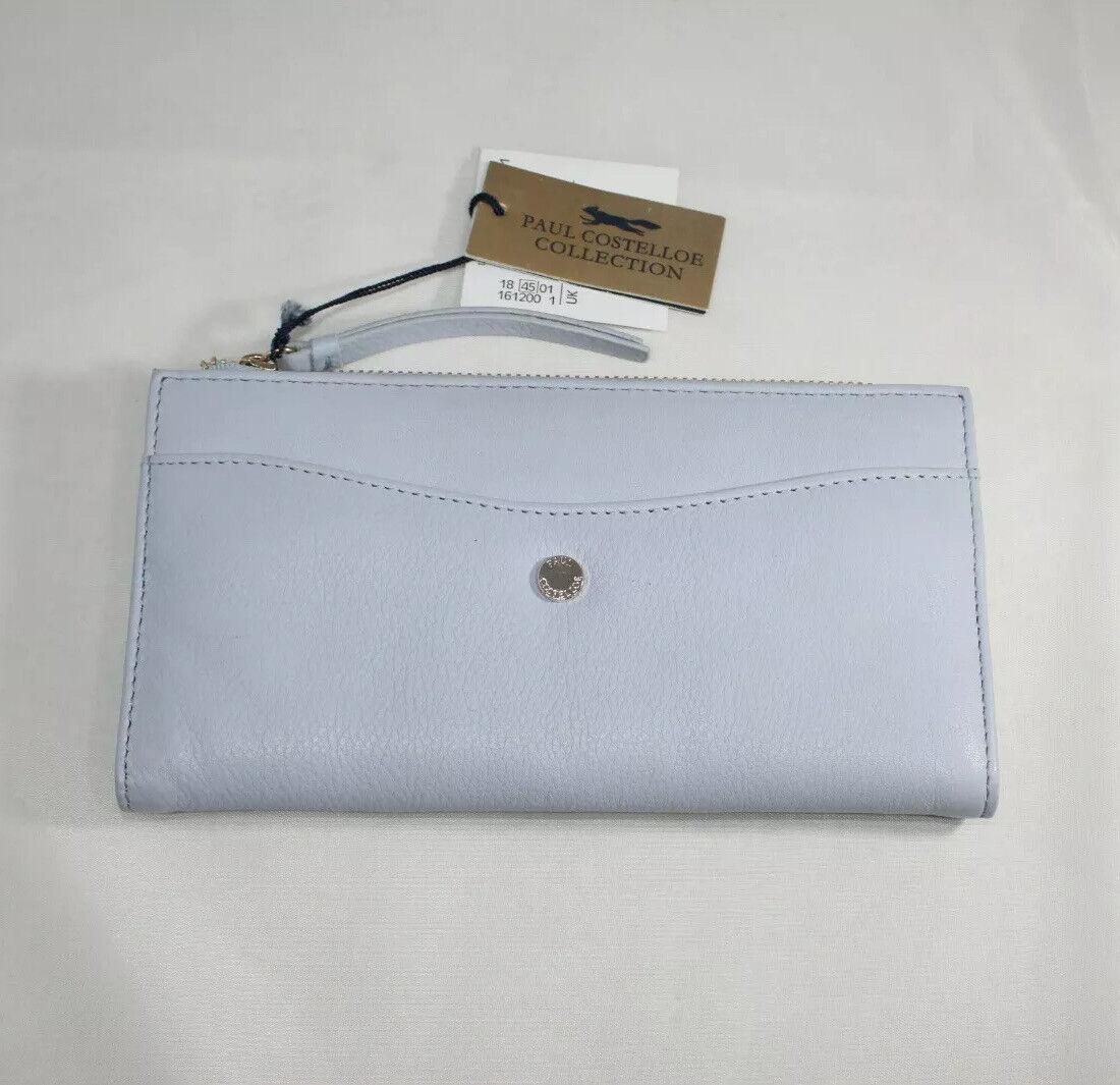 paul costelloe leather purse Blue