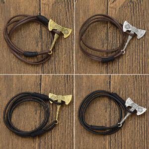 1-Pc-Slavic-Axe-Pendant-Bracelet-Viking-Amulet-Magic-Multilayer-Bangle-Jewelry