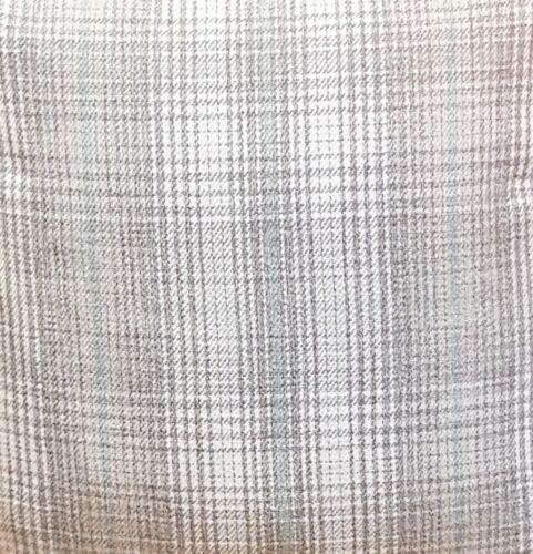"White Luxury Tartan Check Cushion Covers Shop 18/""x18/"" 45x45cm Grey"