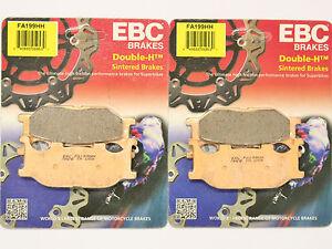 EBC HH Front Brake Pads 2004 2005 2006 Yamaha FZ6 FA199HH