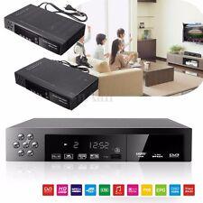 Full HD 1080P DVB-T2+S2 Video Broadcasting Satellite Receiver Box TV HDTV EU/UK