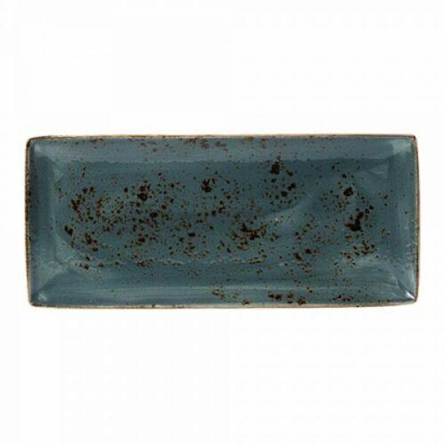 Steelite Platte Rechteckig 37 x 16,5 cm Craft Blue