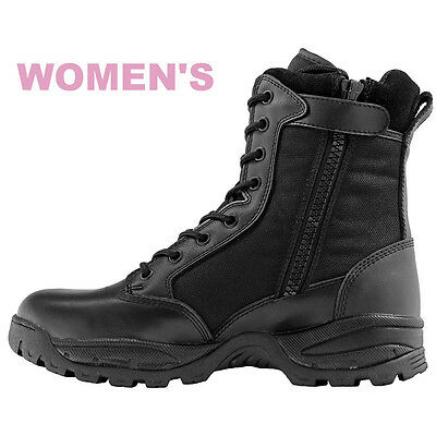 Maelstrom® TAC FORCE 8'' Women's Tactical Duty Boots with Zipper (Minor Defect)