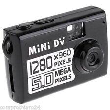 Videocamera Spy MINI DV HD MD80 720x480 5 MPIXEL Microcamera Spia Cimice Cam