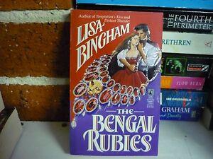 LISA-BINGHAM-HISTORICAL-ROMANCE-THE-BENGAL-RUBIES-BUY-HER-2-BKS