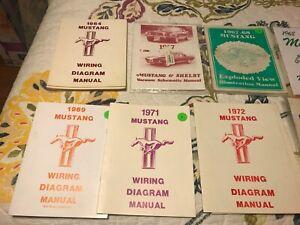 1964 1968 1969 1971 1972 1973 MUSTANG WIRING DIAGRAM ...