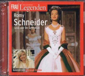 Romy-Schneider-Legenden-Hoerbuch-NEUWERTIG-2-CD-Frau-im-Spiegel-Michaela-Merten