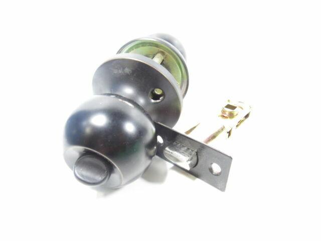 Constructor Passage Lever Door Lock Set Oil Rubbed Bronze Knob Handle Lockset